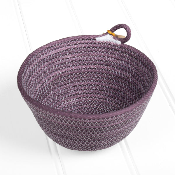 Small dyed basket – purple