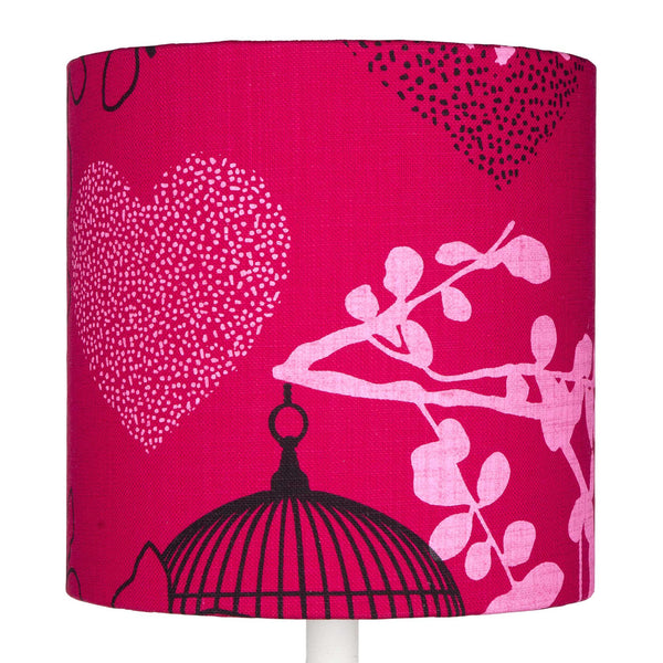 Fuchsia Fairytale table lampshade