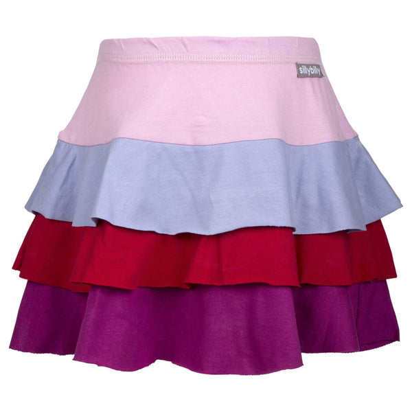 Flower Fun tiered skirt