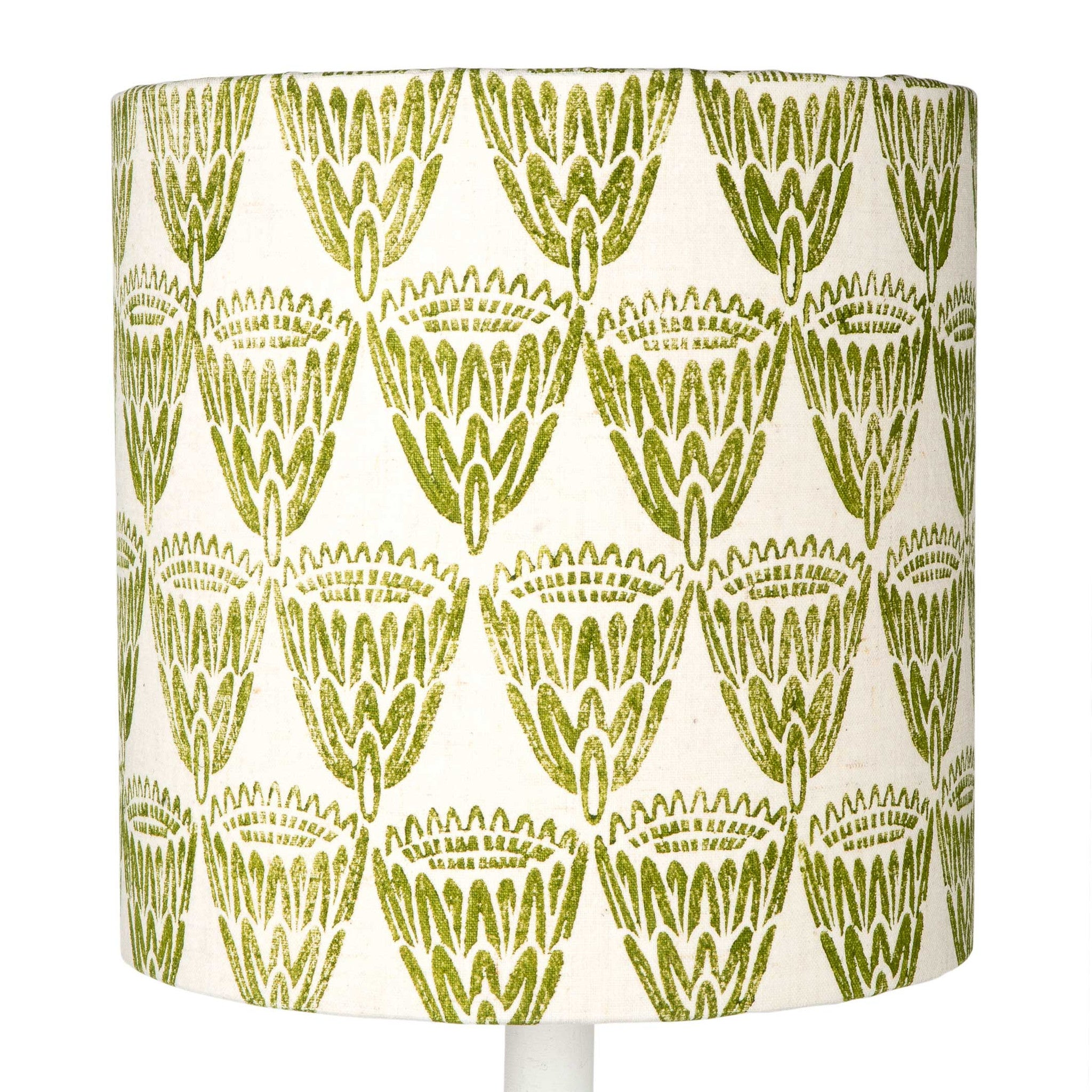 Green King Protea table lampshade