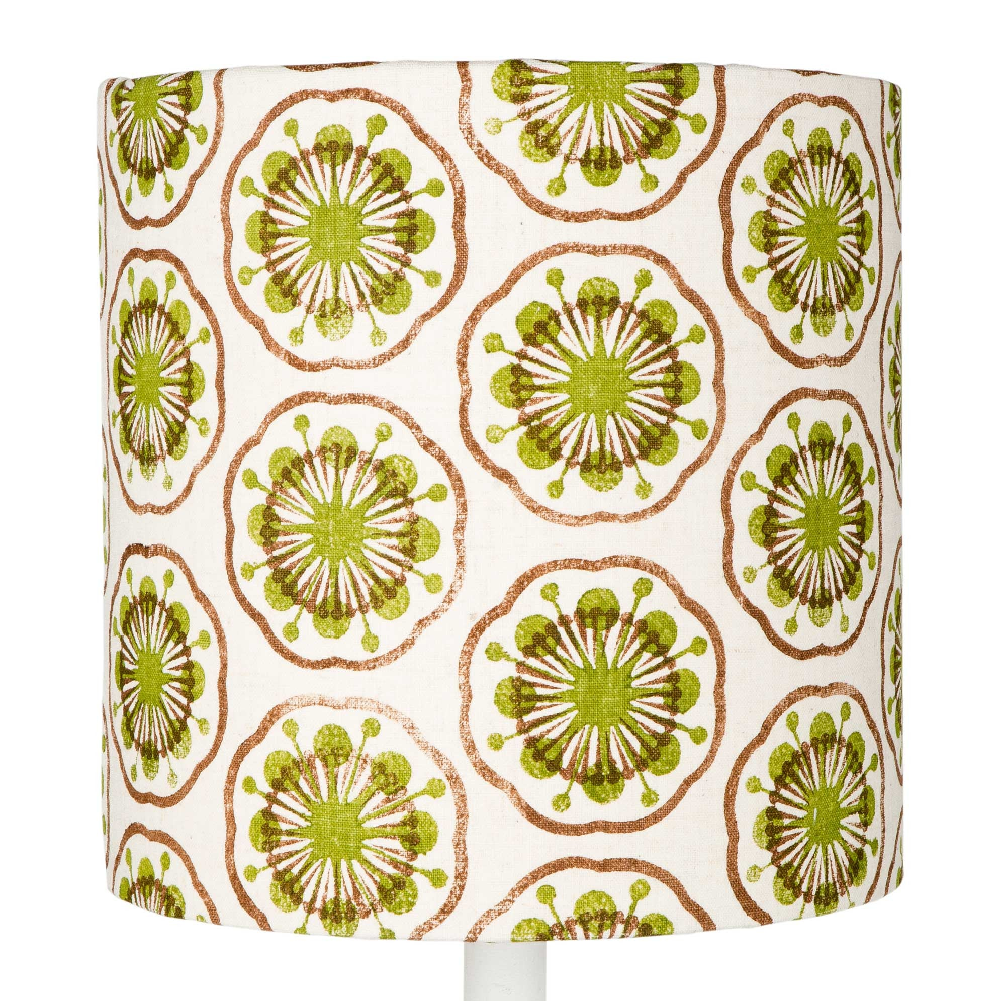 Green & Brown Atomic table lampshade