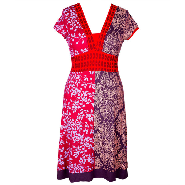 Red Charty dress
