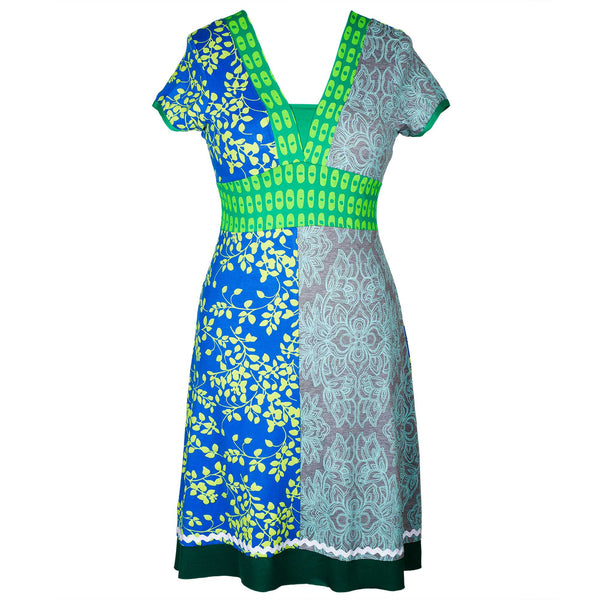 Blue Charty dress