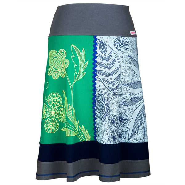 A-line Green Megan skirt