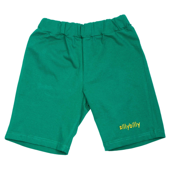 Green boy's shorts