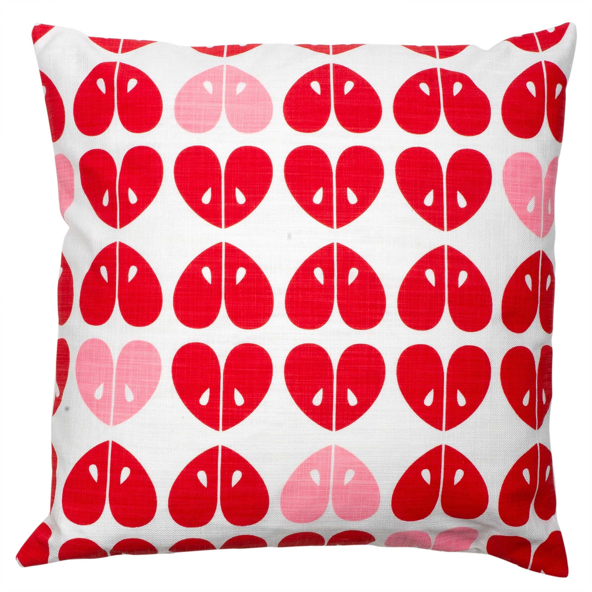 Coral Apples mini cushion
