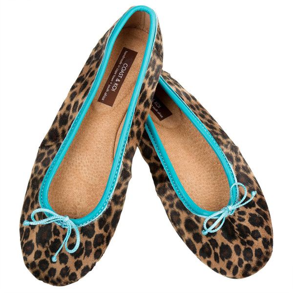 Leopard Print Round Betty Pump