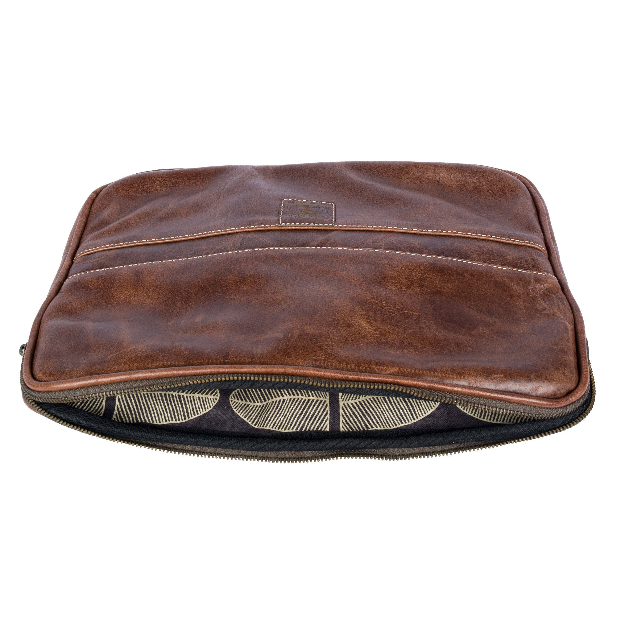 Men's leather laptop cover