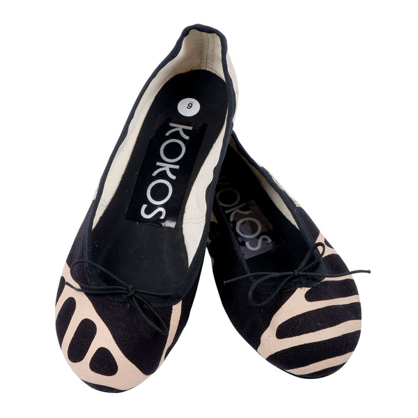 Forest Animals ballet pumps