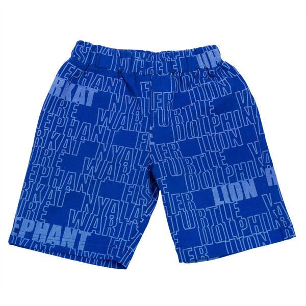 Animal Names boy's shorts