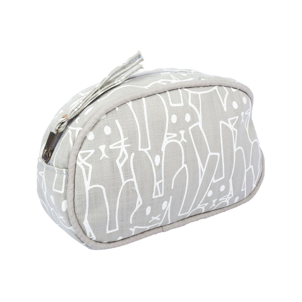 Grey Bunnies toiletry bag