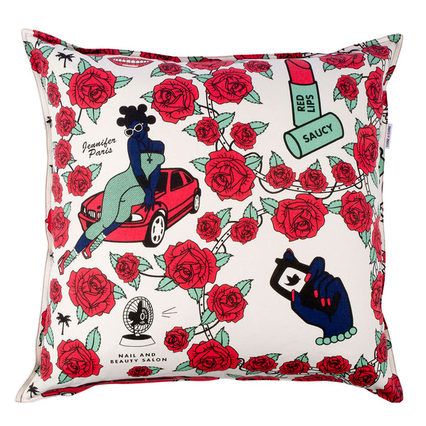 Jennifer Paris Rose cushion