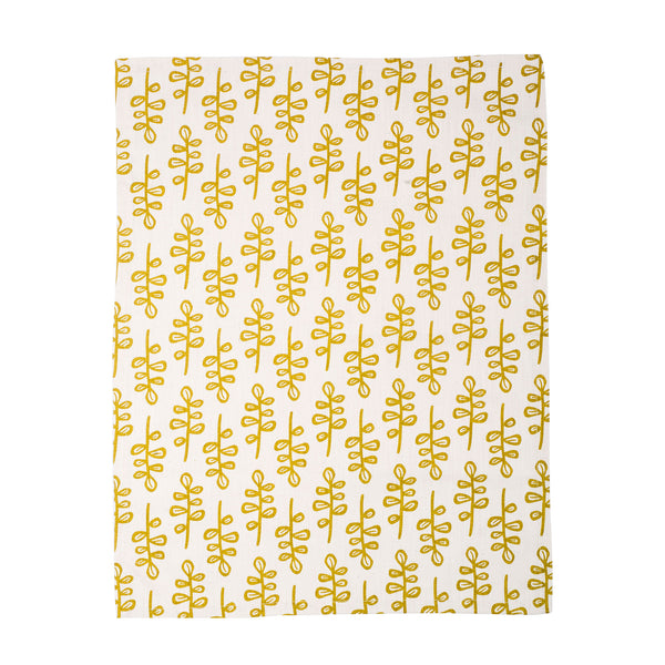 Hedge Lime tea towel