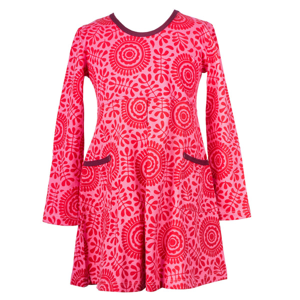 Red girl's tunic