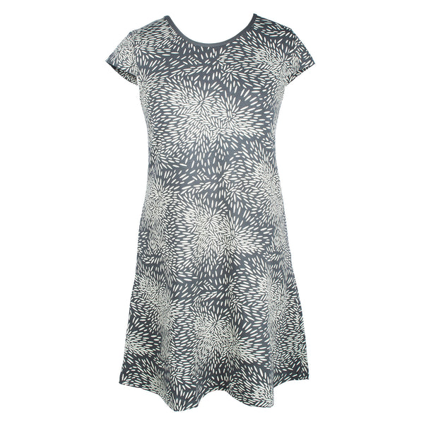 Grey grain Betty dress