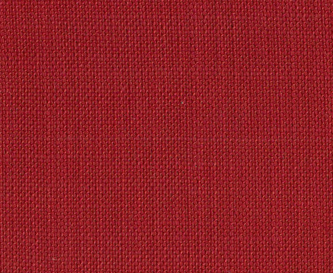 Brick red plain cotton