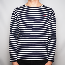 Load image into Gallery viewer, Ahoy - Unisex Striped Long Sleeve