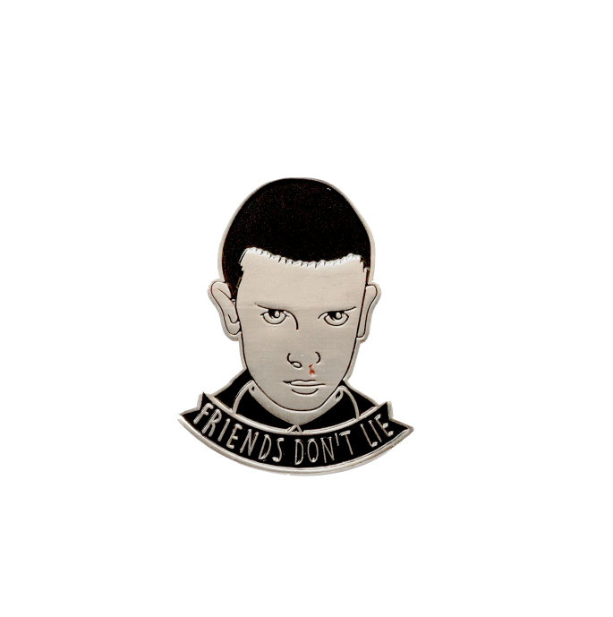 Friends Don't Lie - Stranger Things inspired Enamel Pin