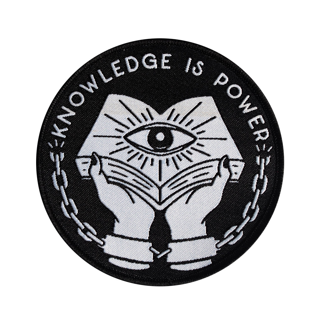 Knowledge is Power - Woven Patch