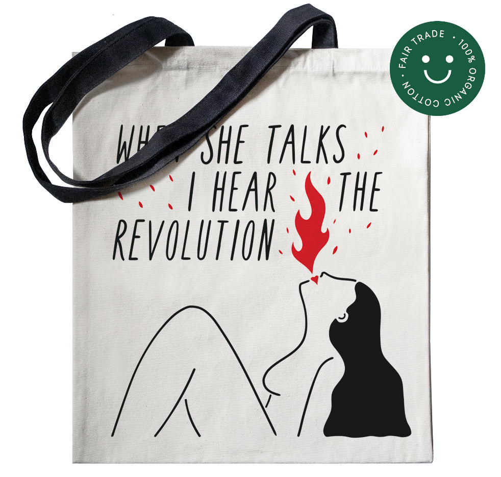Rebel Girl - Tote Bag