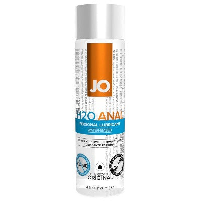 H2O Anal Personal Lube 4oz - Warming or Original