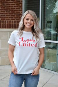 Love United graphic tee