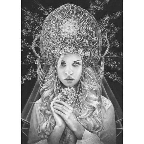 'Virgo   Open Edition Print' by Fiona Francois at Quirky Fox