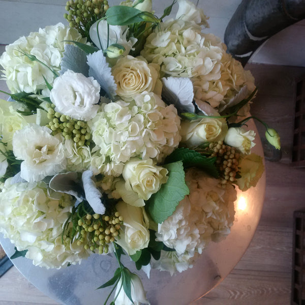 whimsical White arrangement