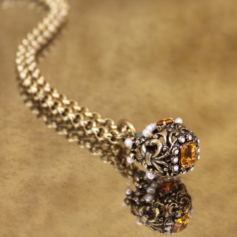 Venetian Crown Necklace