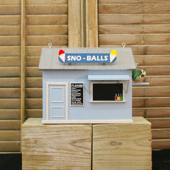 Snowball Stand Birdhouse
