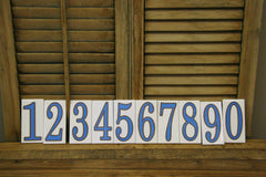 New Orleans Number Tiles