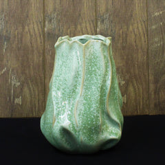 Small Green Glazed Vase