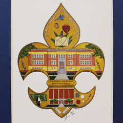 Sacred Heart of Jesus High School Print