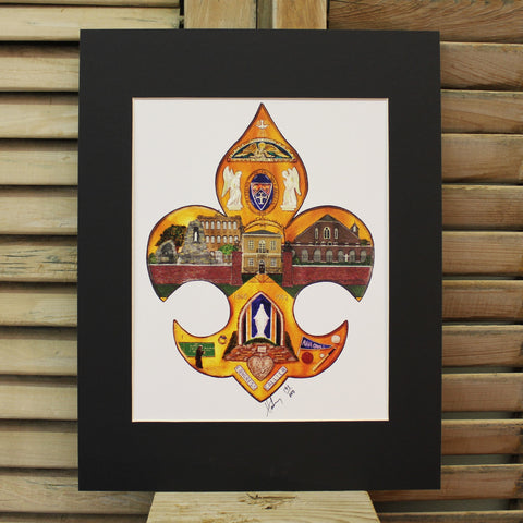 Academy of the Holy Angels Print