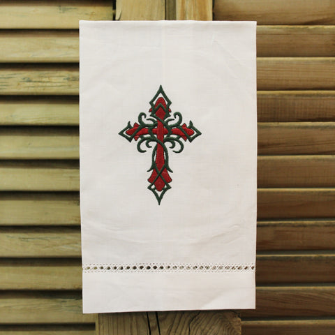 Cross Linen Towel