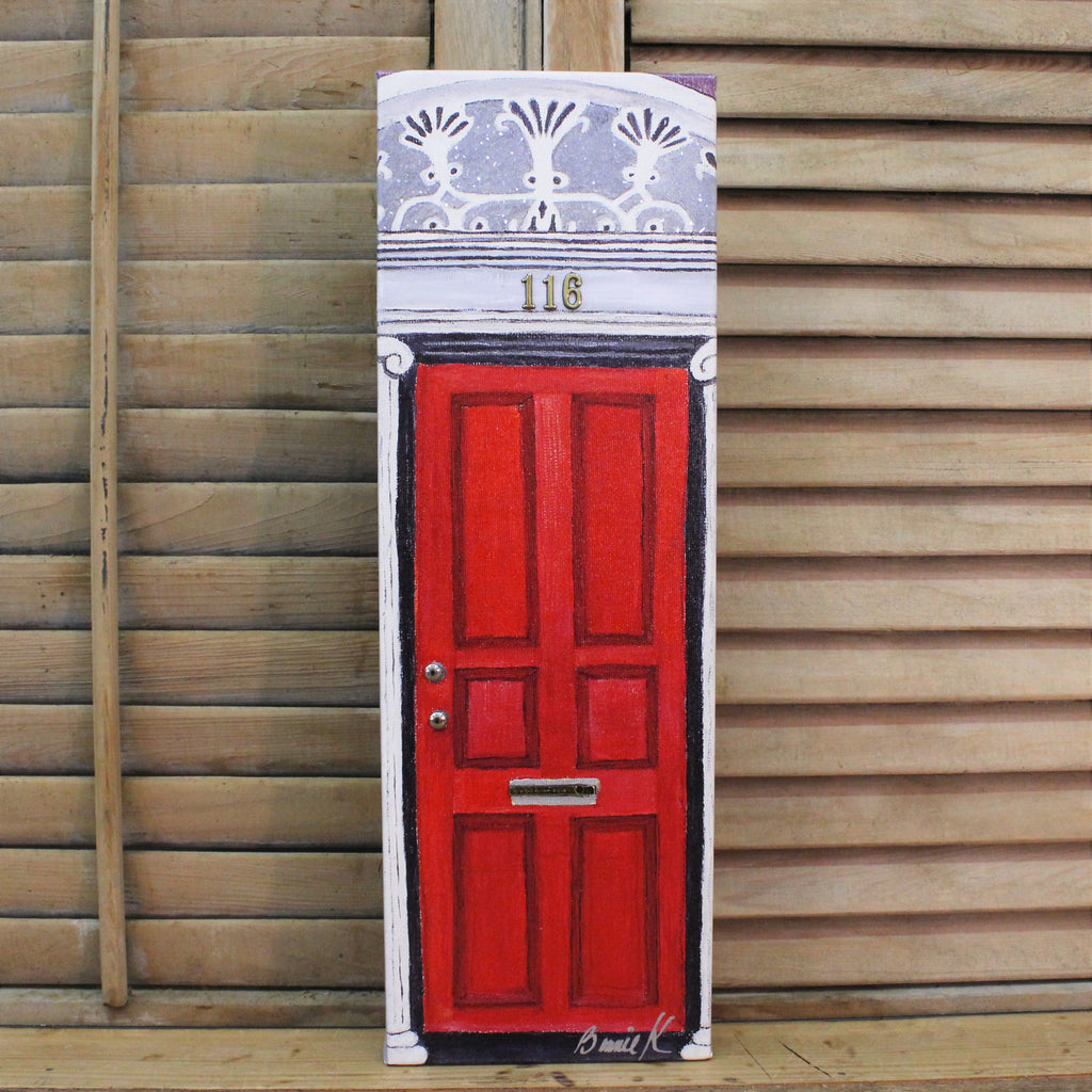 Bright Red Door by Bonnie Klein