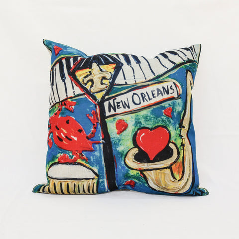 New Orleans Pillow