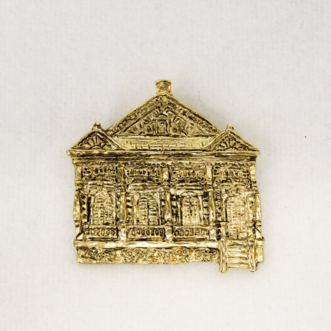 Double Shotgun House Pin