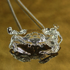 Pewter Crab on Chain