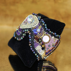 Crystal Beaded Cuff