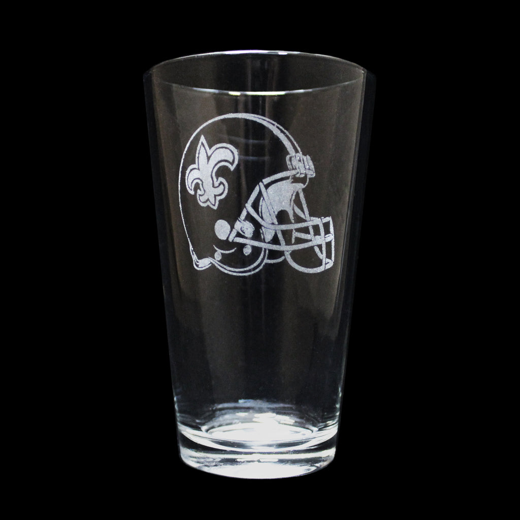Saints Helmet Glass