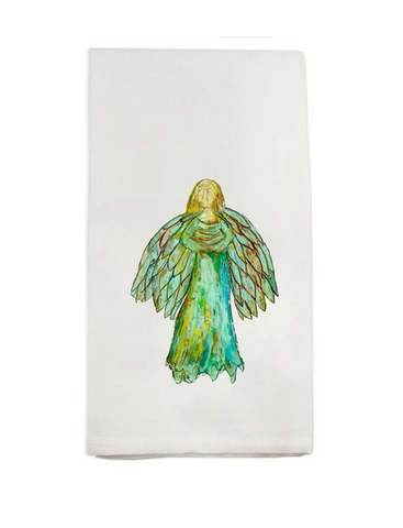 Colorful Angel Hand Towel
