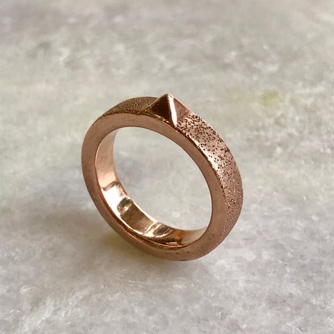 Sterling Copper Ring