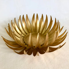 Gold Leaf Centerpiece
