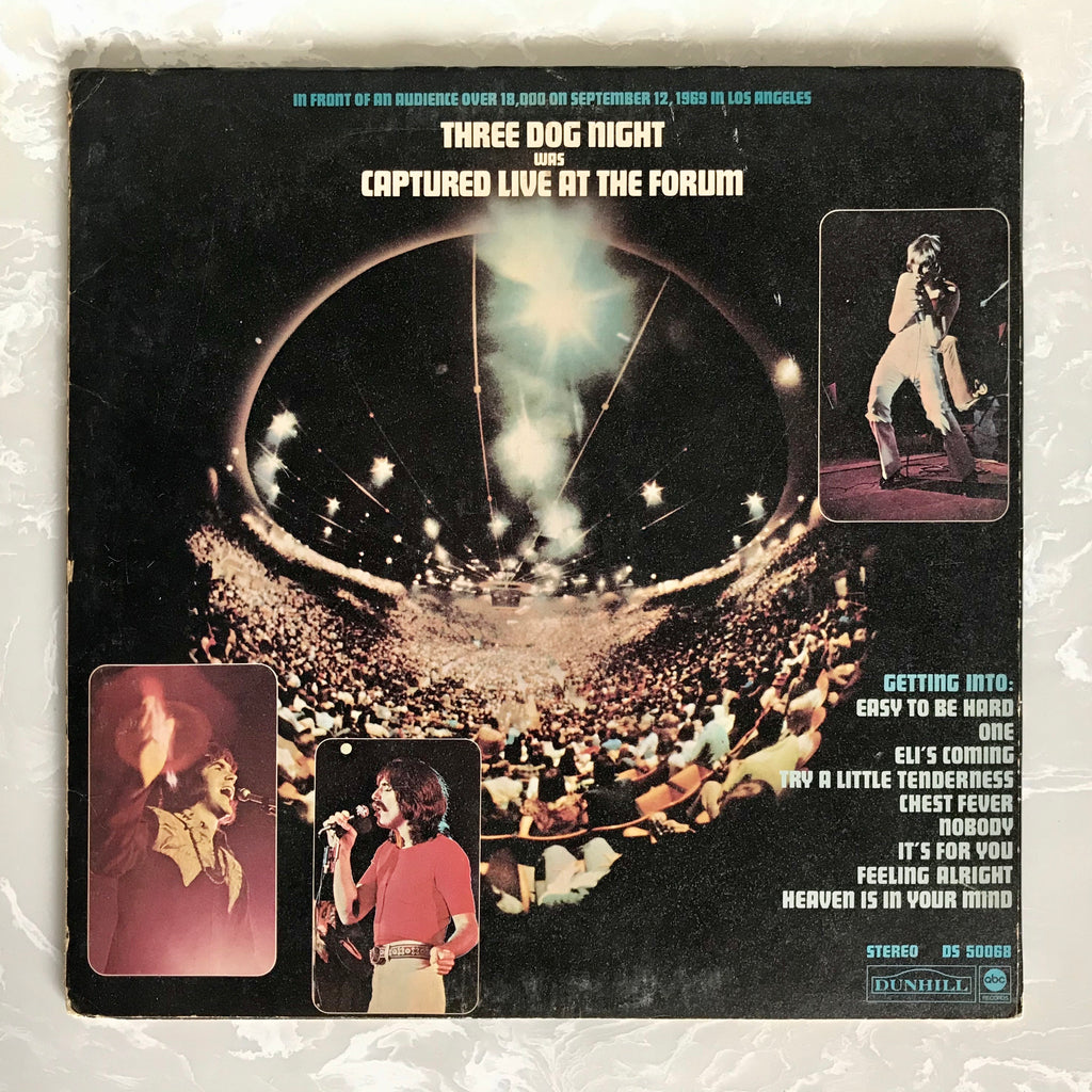 Three Dog Night, Captured Live at the Forum