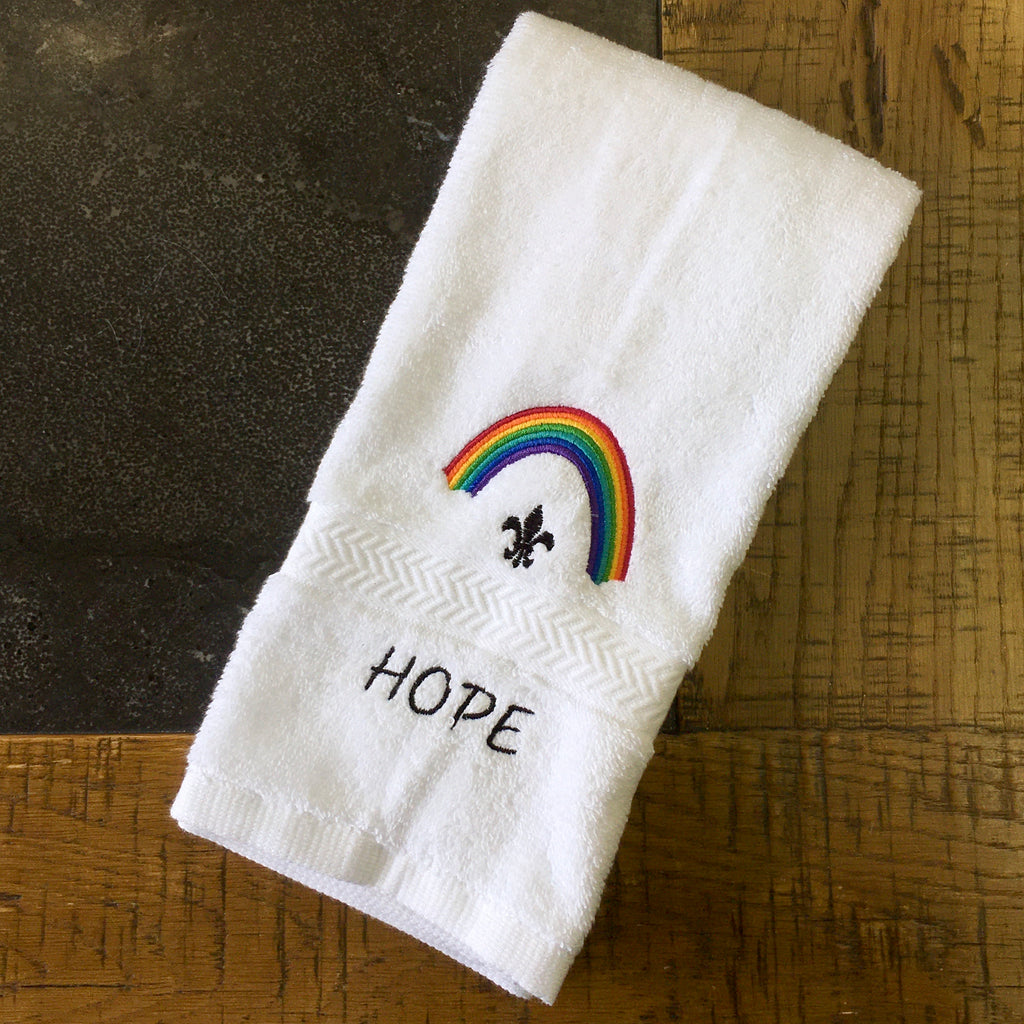 Rainbow Hope Towel