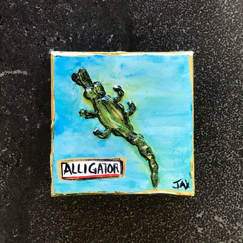Alligator Mini Painting
