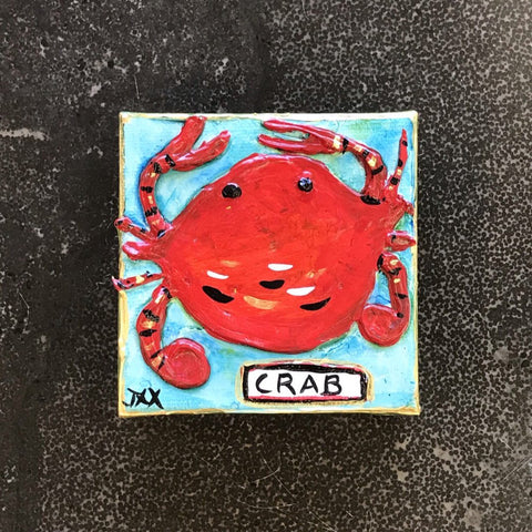 Crab Mini Painting