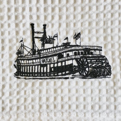 Natchez Steam Boat Towel