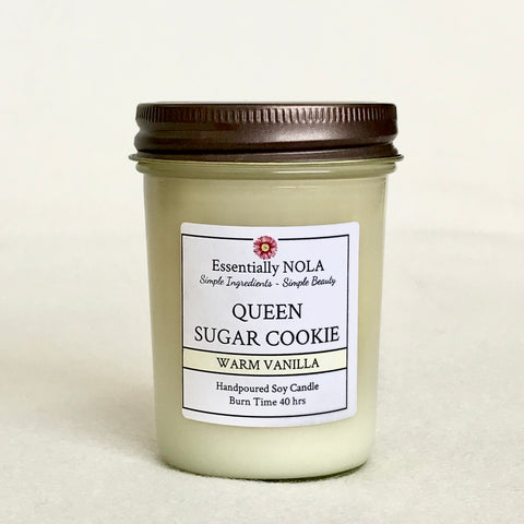 Queen Sugar Cookie Candle